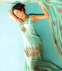 indian sharara dress