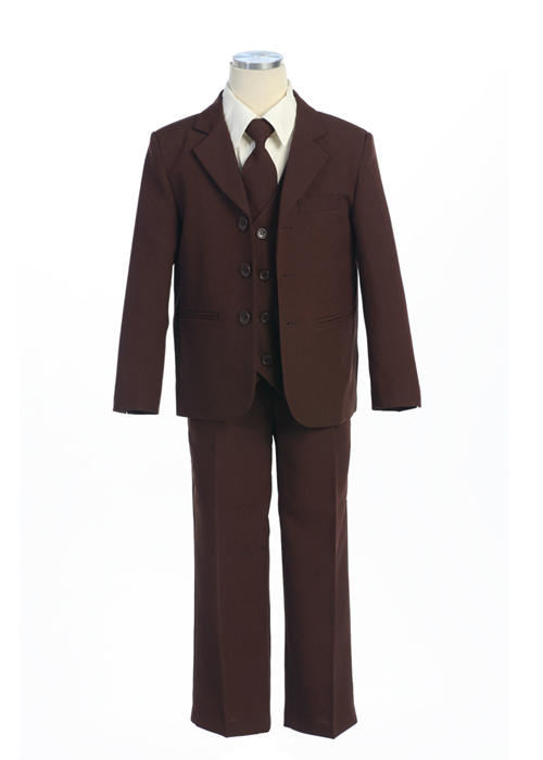 BROWN special occasion dresses for boys