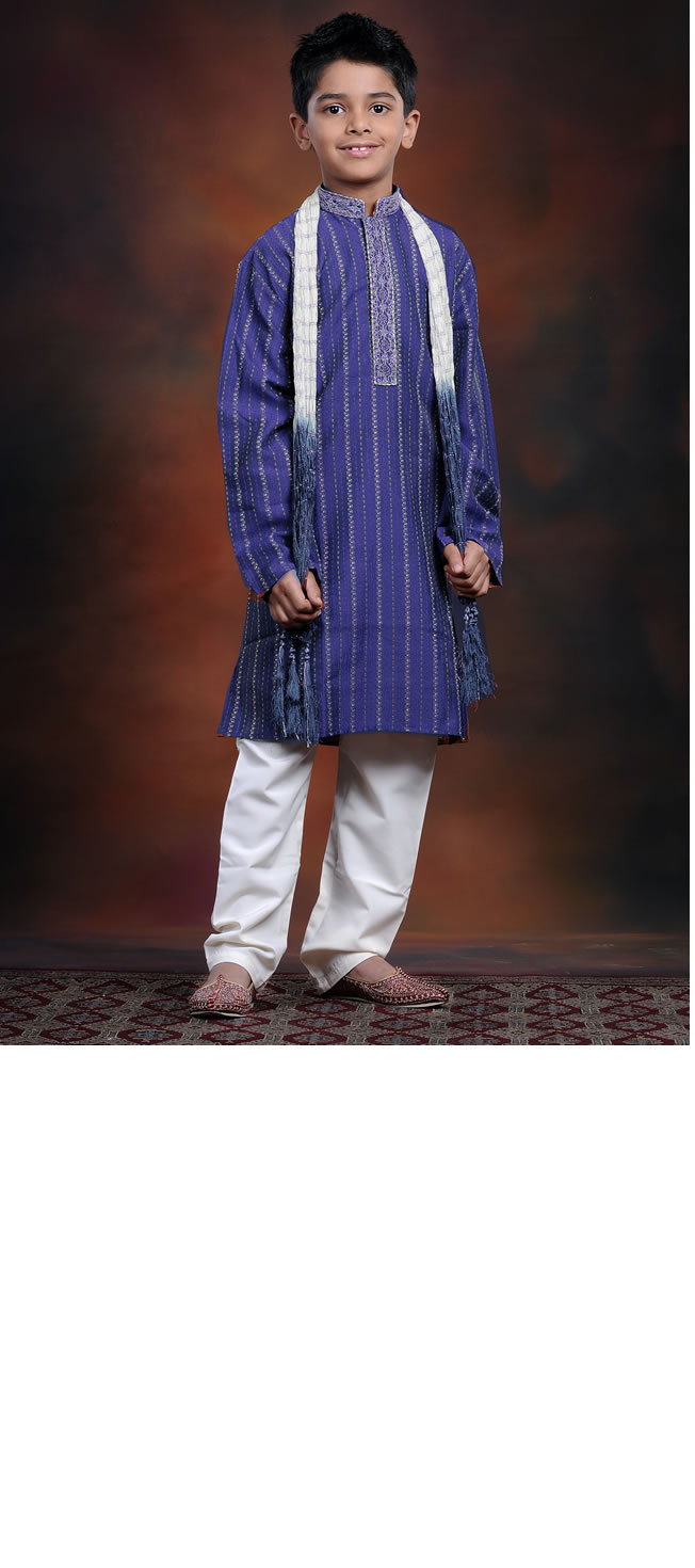 Latest Boys' Shalwar Kameez Style