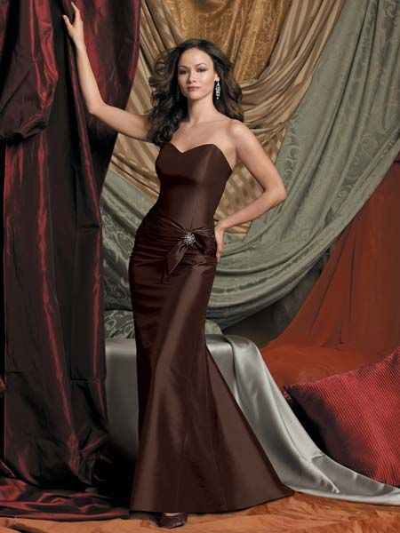 Brown special occasion dresses