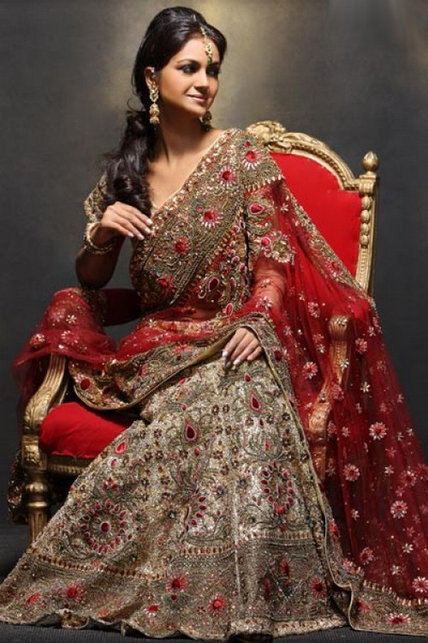 Beautiful Bridal Saree
