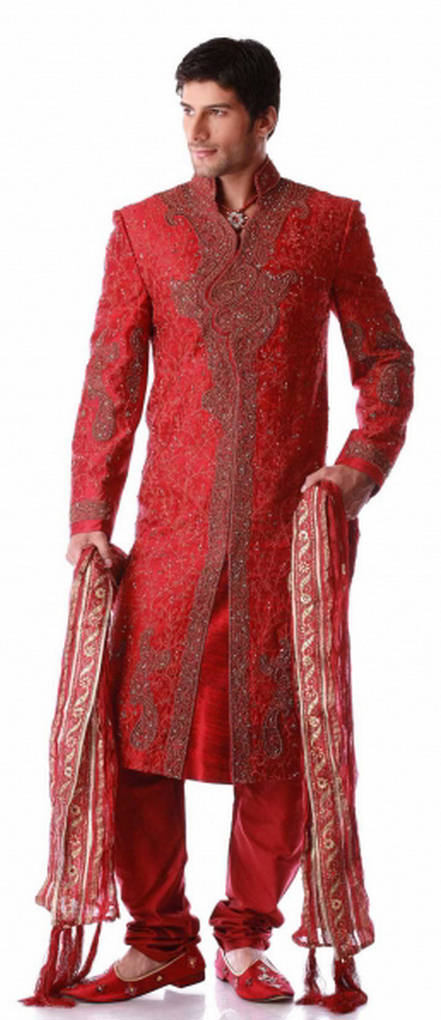 Beautiful Man Sherwani Designs For Fashion 2011