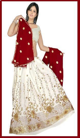 Bridal Lahnga Choli With Duppata