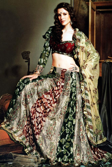 Bridal Lehnga Design 2012