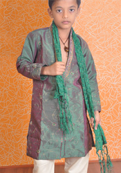 Embroidered Dual Tone Sherwani