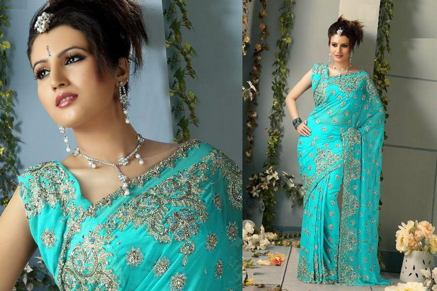 Ethnic Bridal Saree 2012