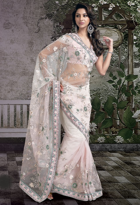 Formal Bridal Saree 2012