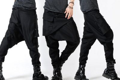 Front panel Harem Pants by deepstyle