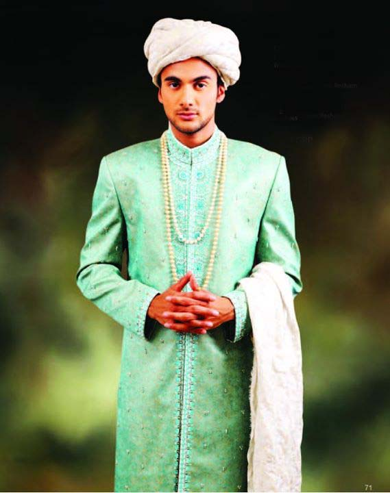Groom wear Wedding Sherwanis By Rizwan Moazzam 2012