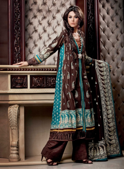 Gul Ahmed Ladies Printed Khaddar