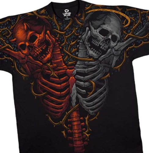 Harley Davidson Soul Brothers Angel and Devil T-Shirt