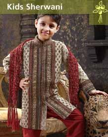 Kids Sherwani Template
