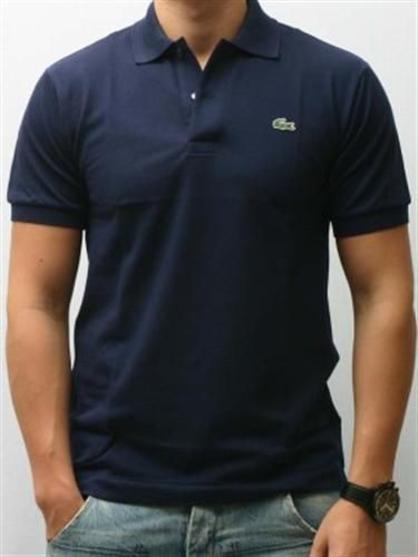 Lacoste Navy Polo Shirt