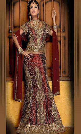 Latest Bridal Sharara