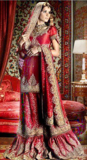 Latest Fashion Bridal Dresses 2012 For Women