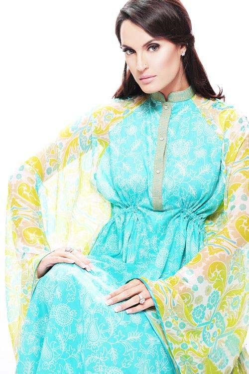 Latest Nadia Hussain Signature Lawn Prints 2012
