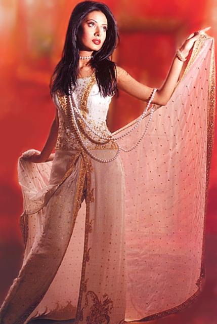 Latest Pakistani Bridal Sharara