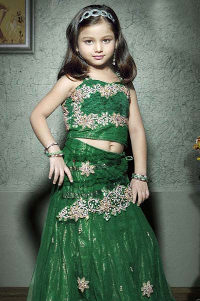 Lehenga Designs For Kids