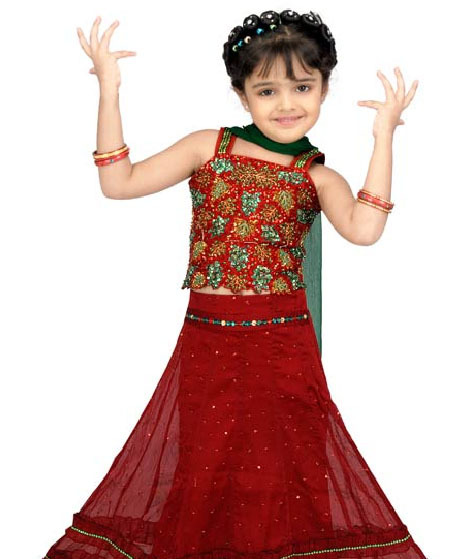 Lehenga For Kids 2012