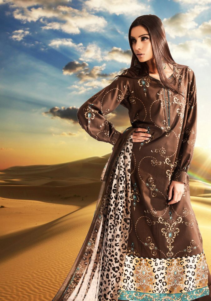 Maria B Lawn 2012 Collection for Women