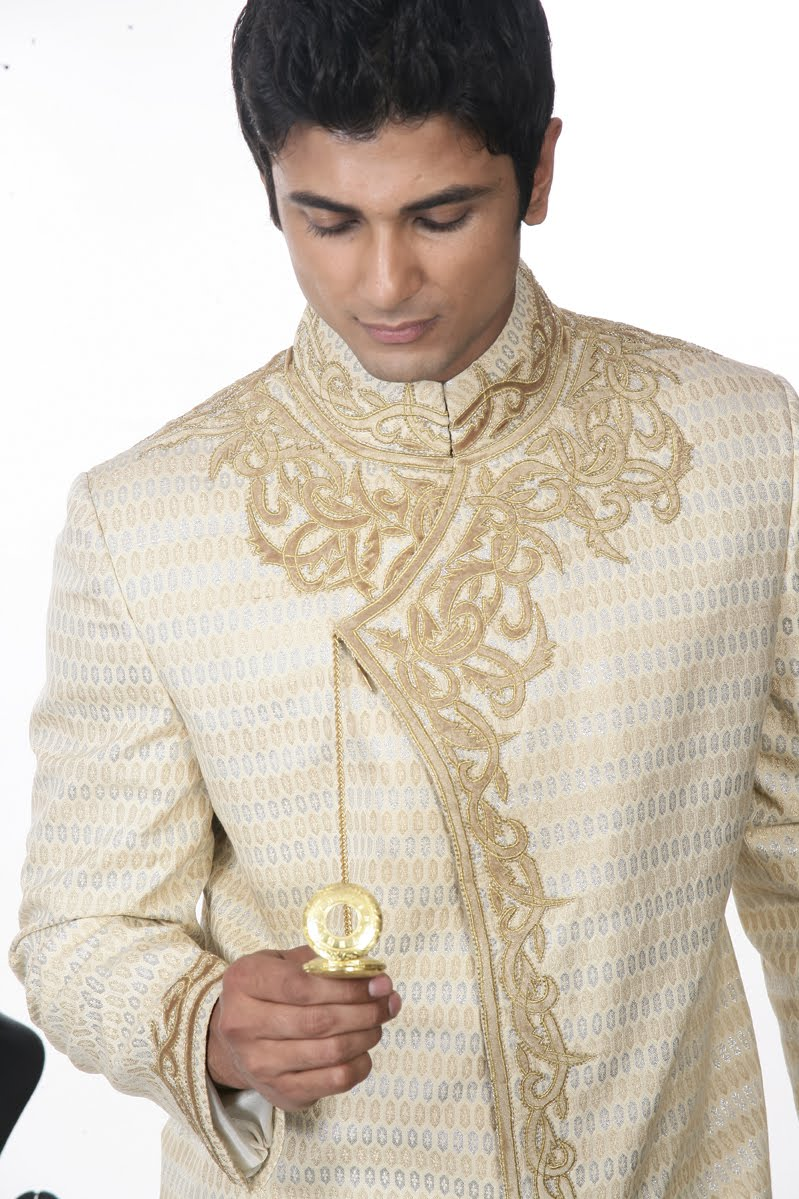 Men Semi Sherwani
