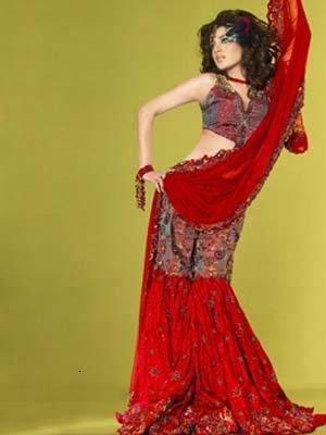 Paki Sharara Bridal Trend 2012