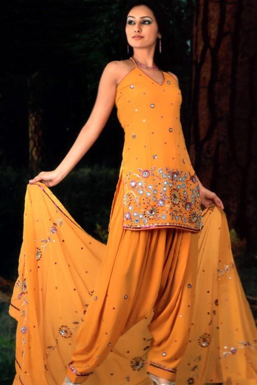 Patiala Salwar Kameez For Eid