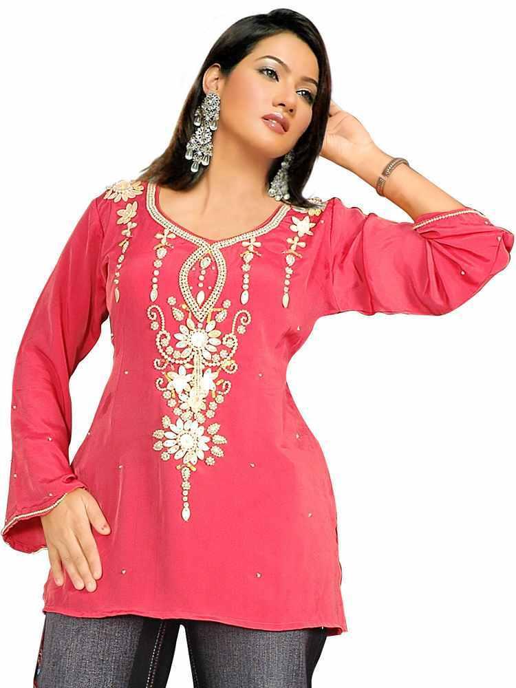 Silk Kurti Designs Fashion Style Trends 2016