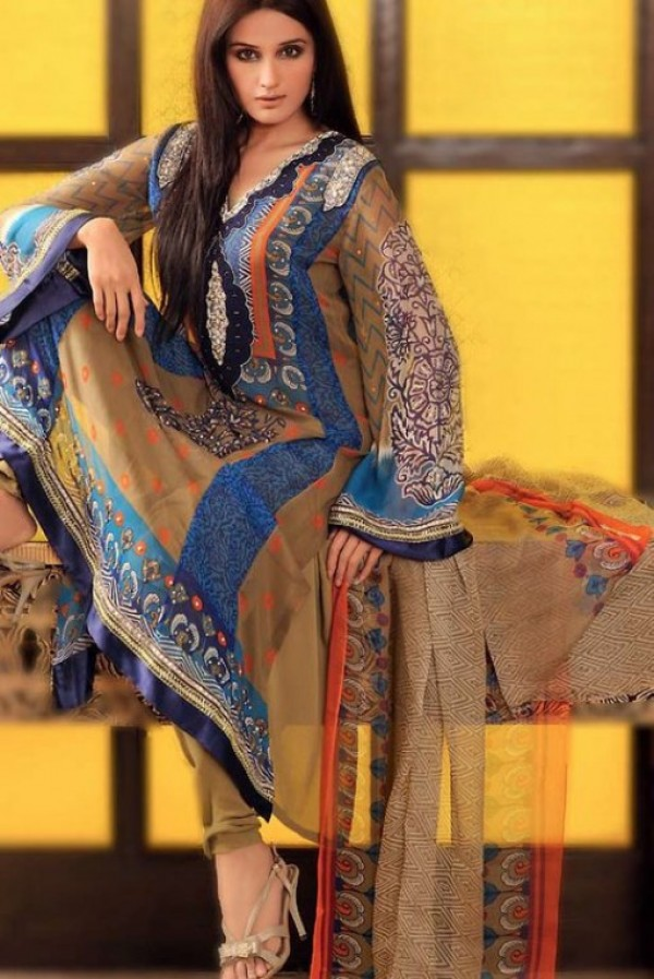 Latest Salwar Kameez Design for Spring 2012