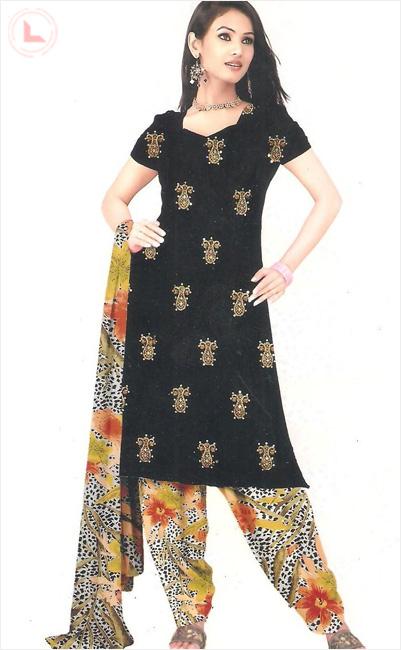 Printed Salwar Kameez - Women Fashion