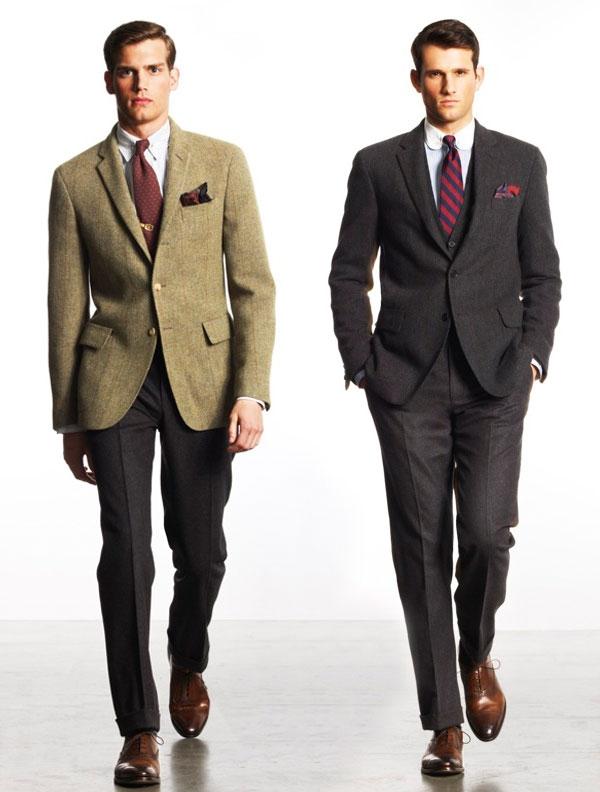 Ralph Lauren sack suit