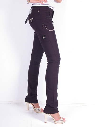 Richmond Jeans Cut Pants for Women Black