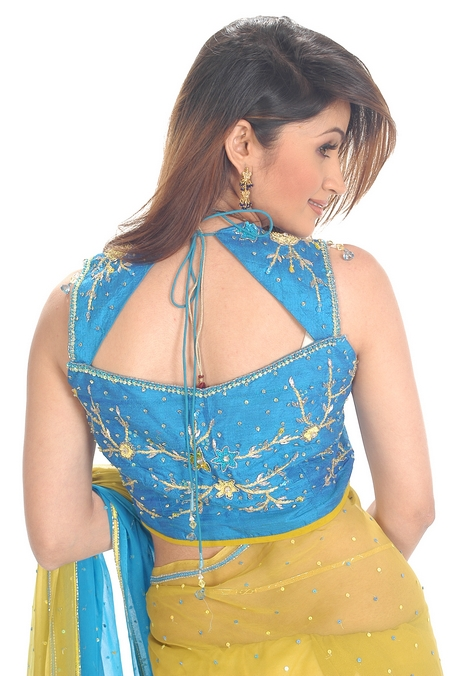 Saree blouse designs fashion style trends 2016