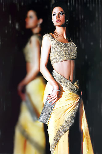 Saree Design 2012