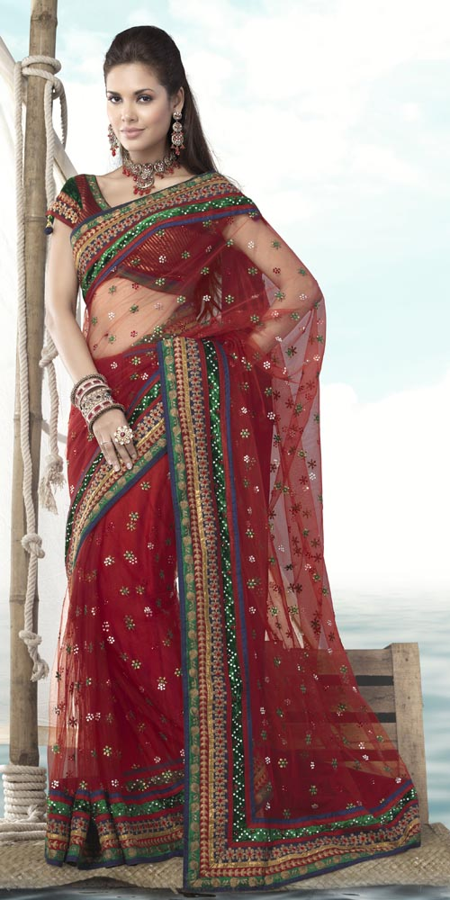Sizzling Bridal Saree