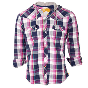 Soul Cal Coltrane Hooded Shirt