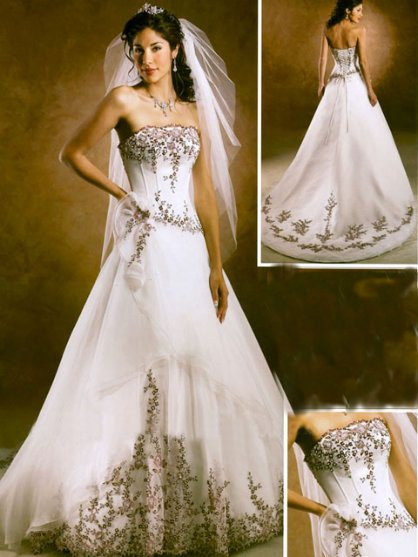 USA Gharara bridal gowns
