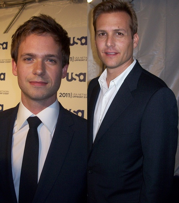 USA Network 2012 Media Upfront suits cast