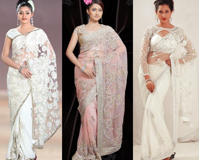 Unique Bridal Saree 2012