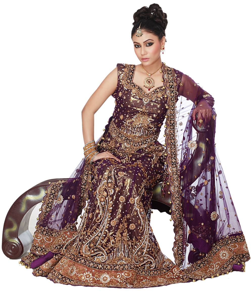 Latest Wedding Lehengas Design 2012