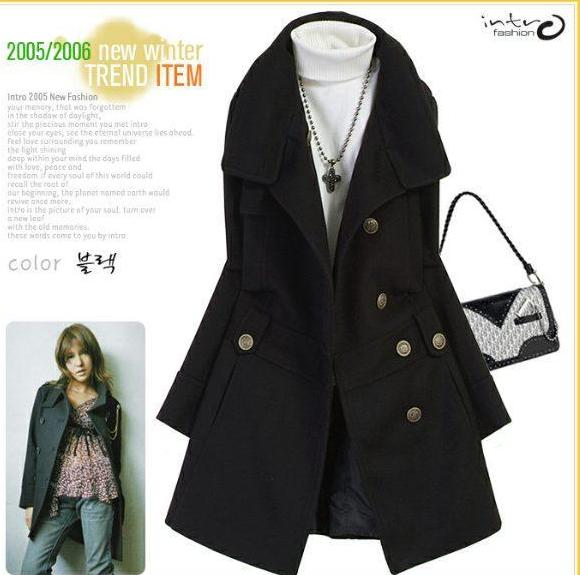 Wool Witner Long Jacket Coat