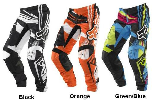 apparel fox racing off road pants kids boys 180 undertow black