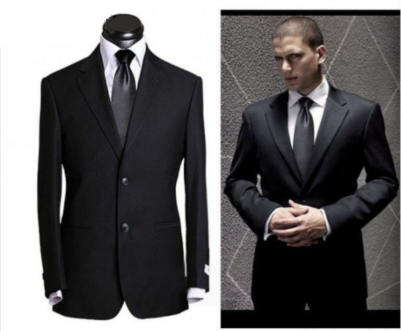 armani mens suits slim models business wedding