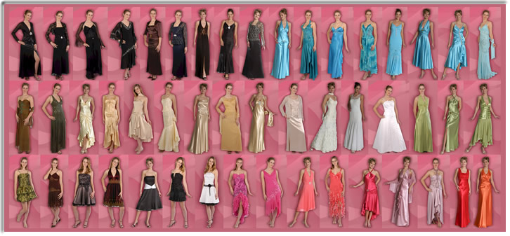 Dark Pink special occasion dresses 2012 Styles