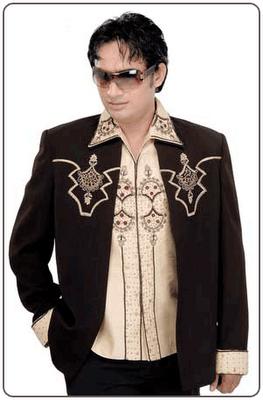 black suit Design for Men