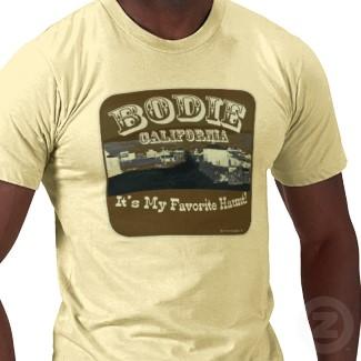 bodie california T-shirt