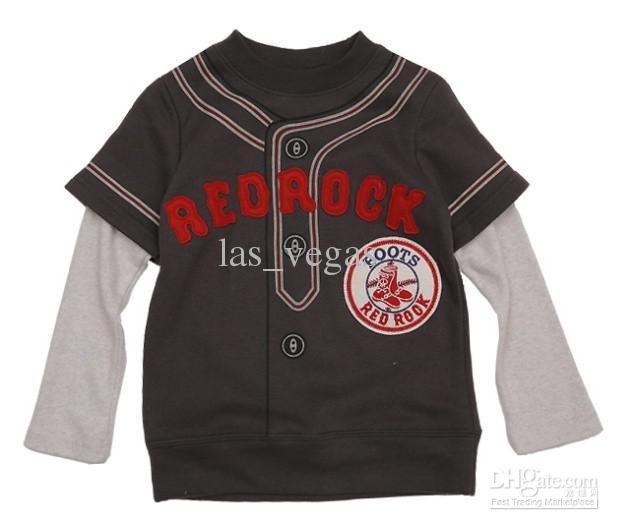 Sweater T-shirt boys harlan clothing baseball