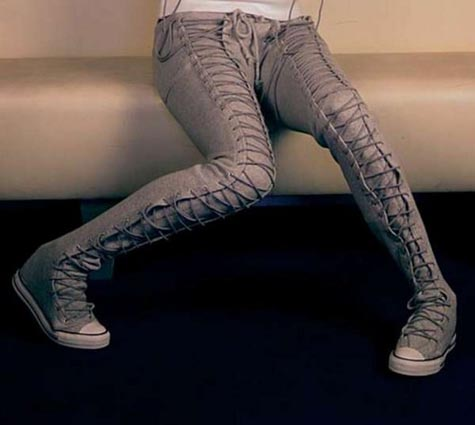 converse lace ups
