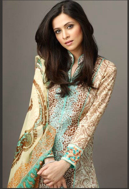 deepak perwani latest summer lawn collection 2012