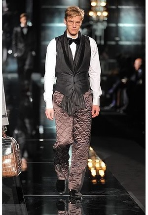 dolce and gabbana fall 2009 mens waistcoat